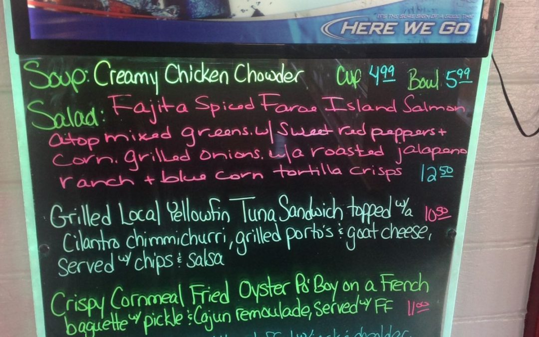 Lunch Specials 3/24/17