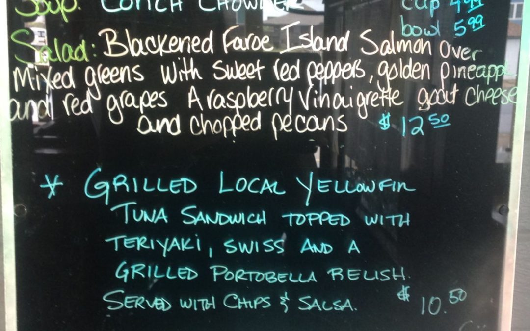 4/15 Lunch specials
