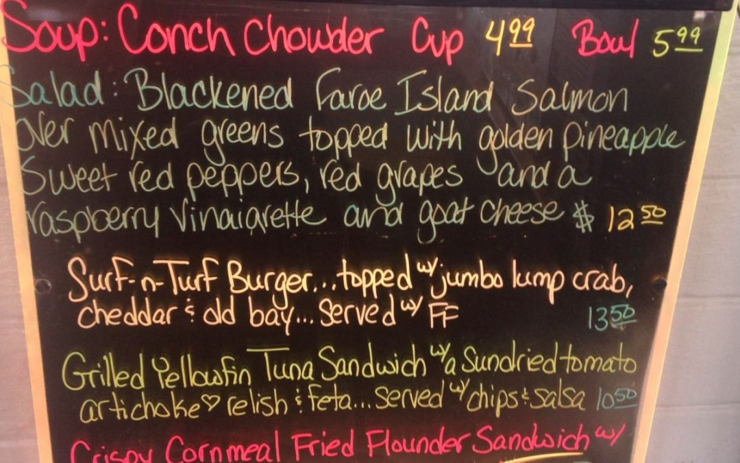 Lunch Specials 4/18/17