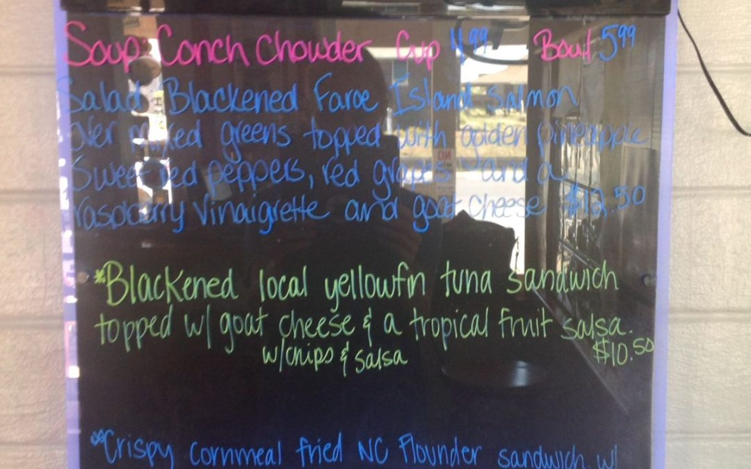 Lunch Specials 4/21/17