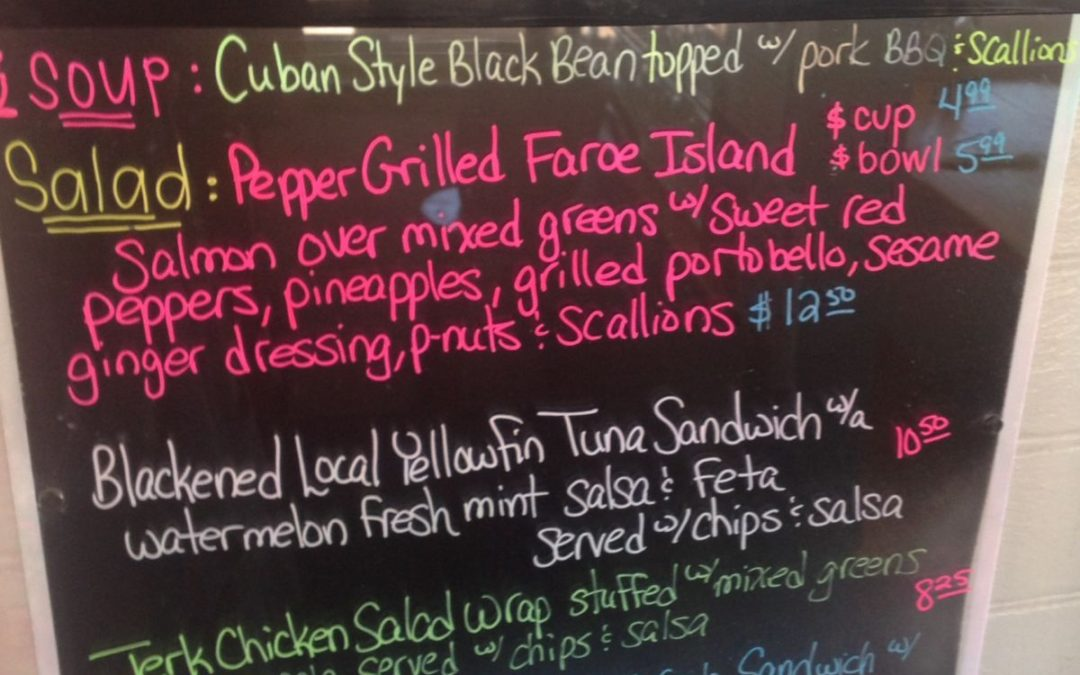 Lunch Specials 5/3/17