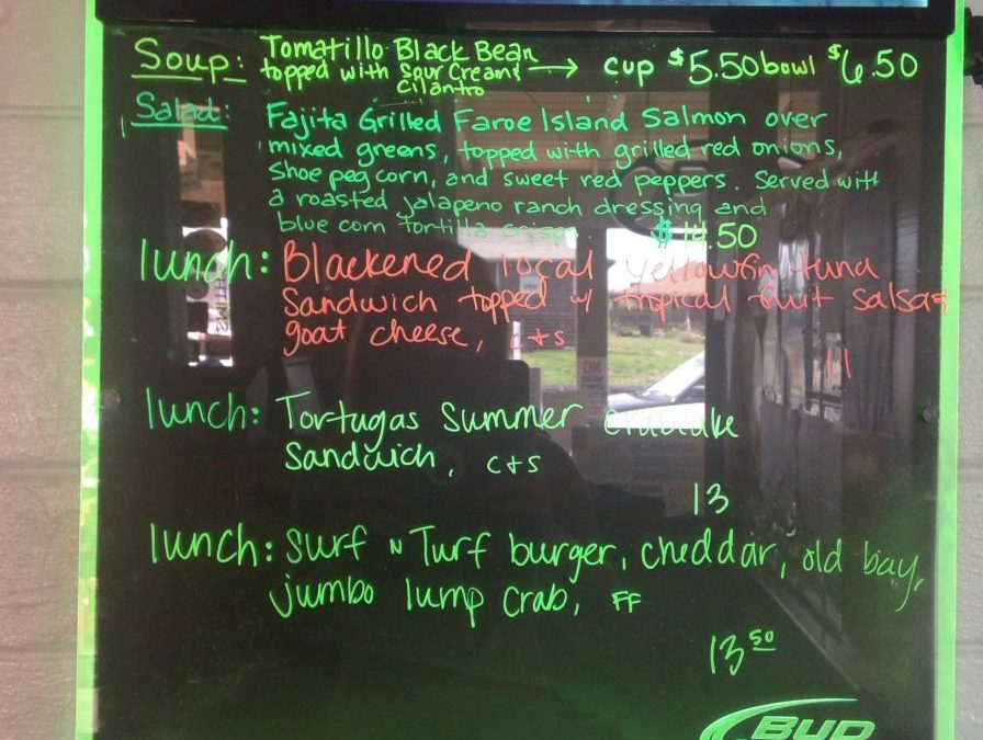 Lunch Specials 7/25/17