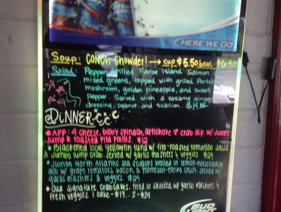 Dinner Specials 7-11-17