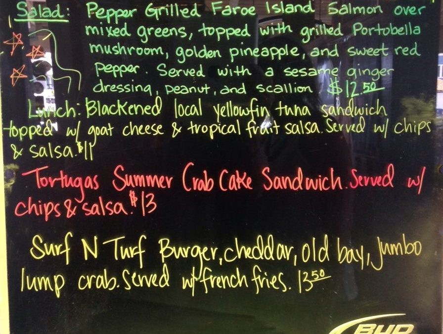 Lunch Specials 7/11/2017