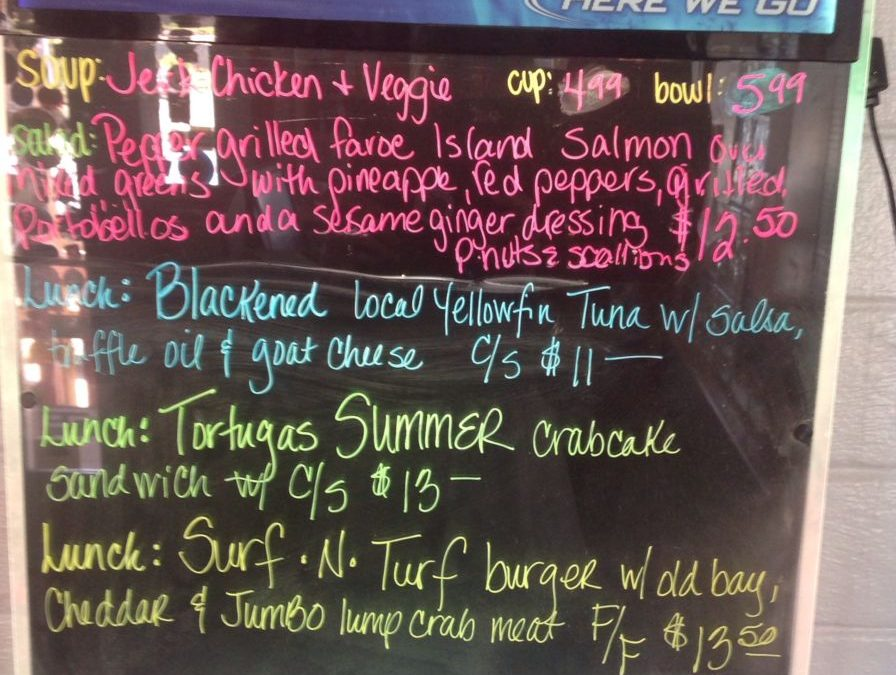 Lunch Specials 8/17/2017