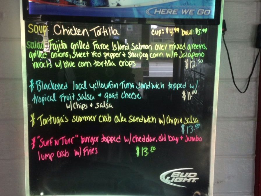 Lunch Specials 8/29/2017