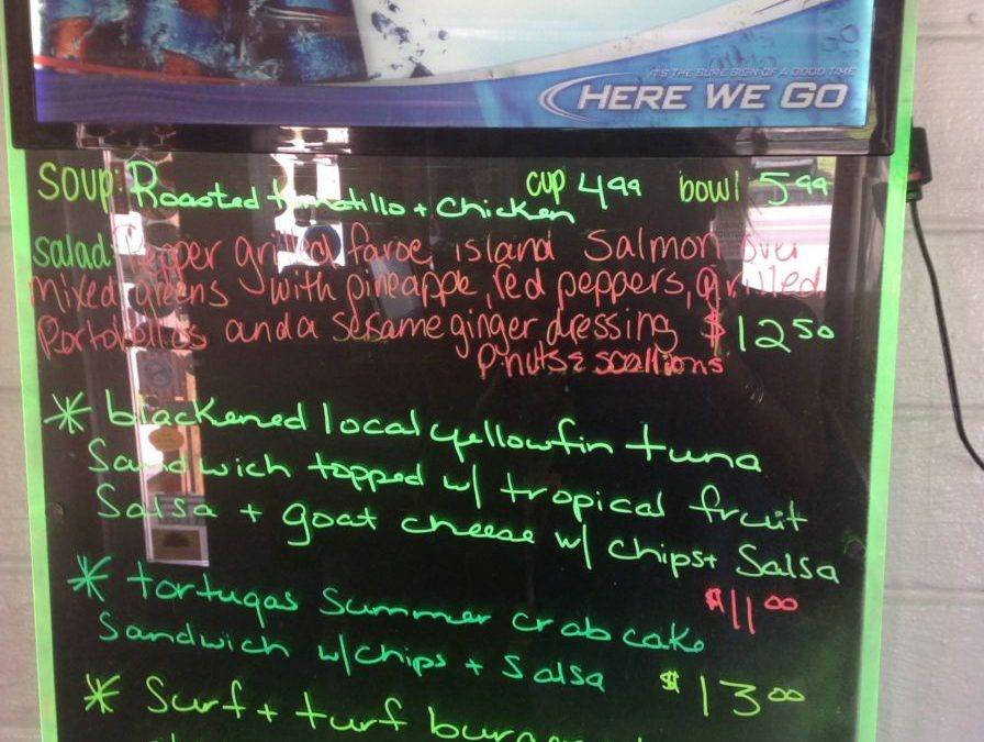 Lunch Specials 8/23/2017