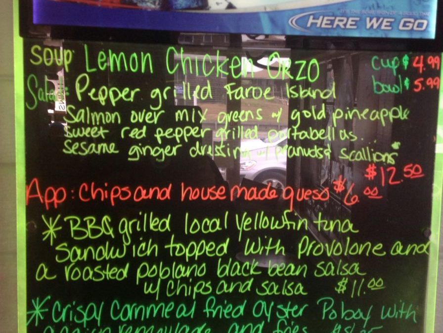 Lunch 10-14-17