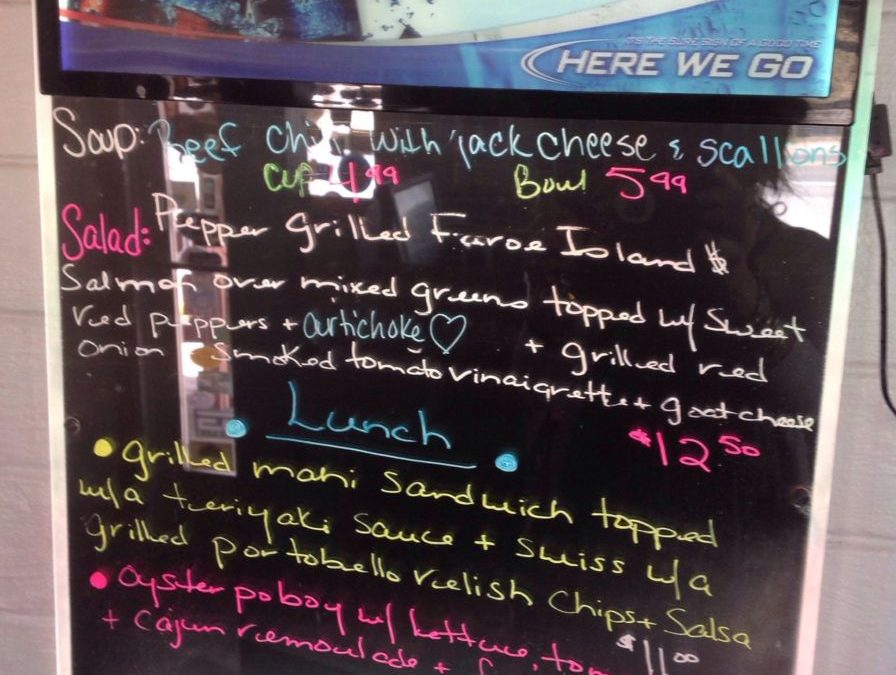 Lunch Specials 3/8/2018