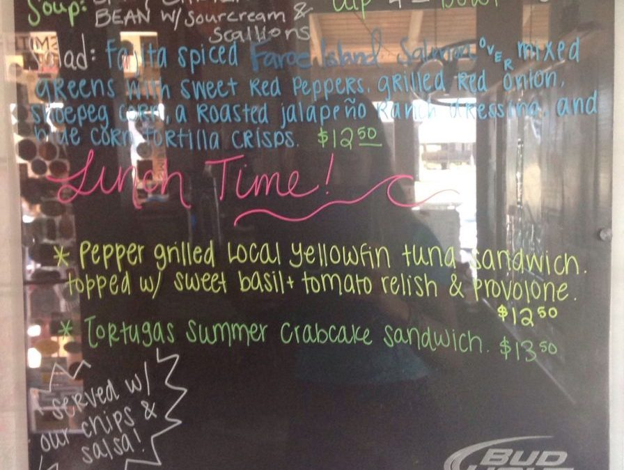 Lunch Specials 7/19/18