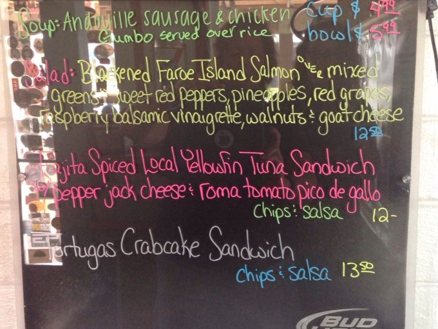 Lunch Specials 8/14/18