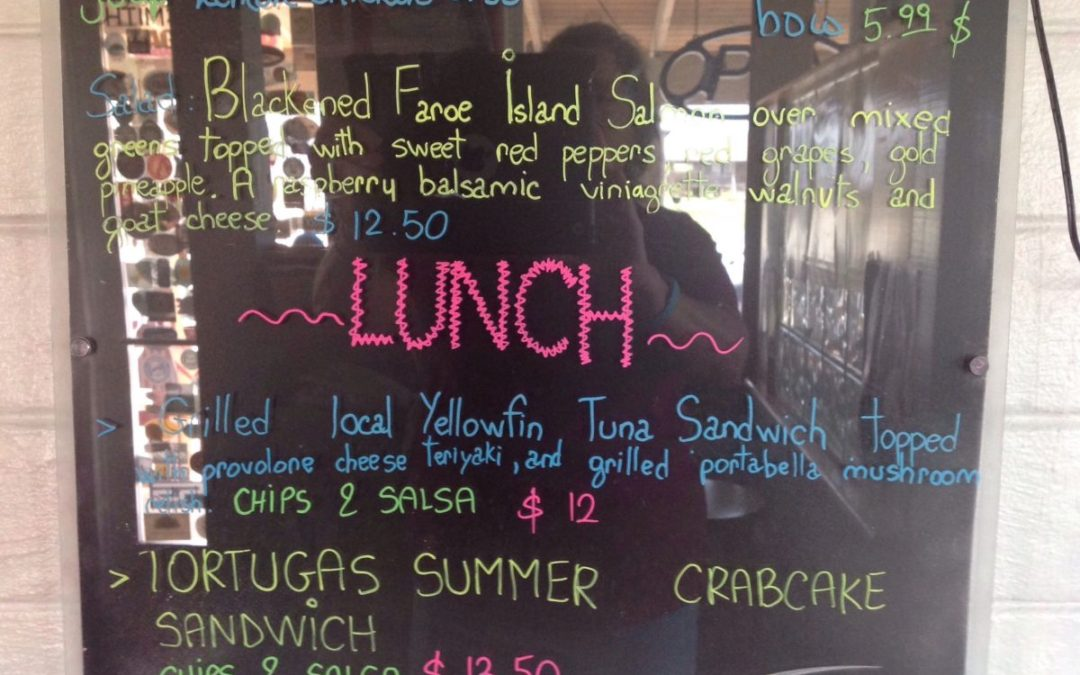 Lunch Specials 8/25/2018