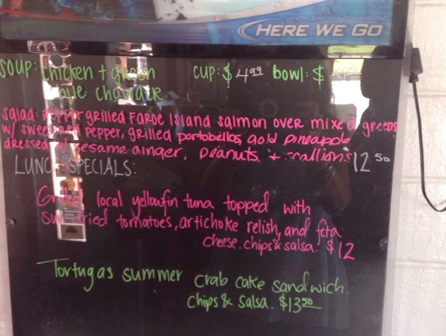 Lunch Specials 8/5/2018