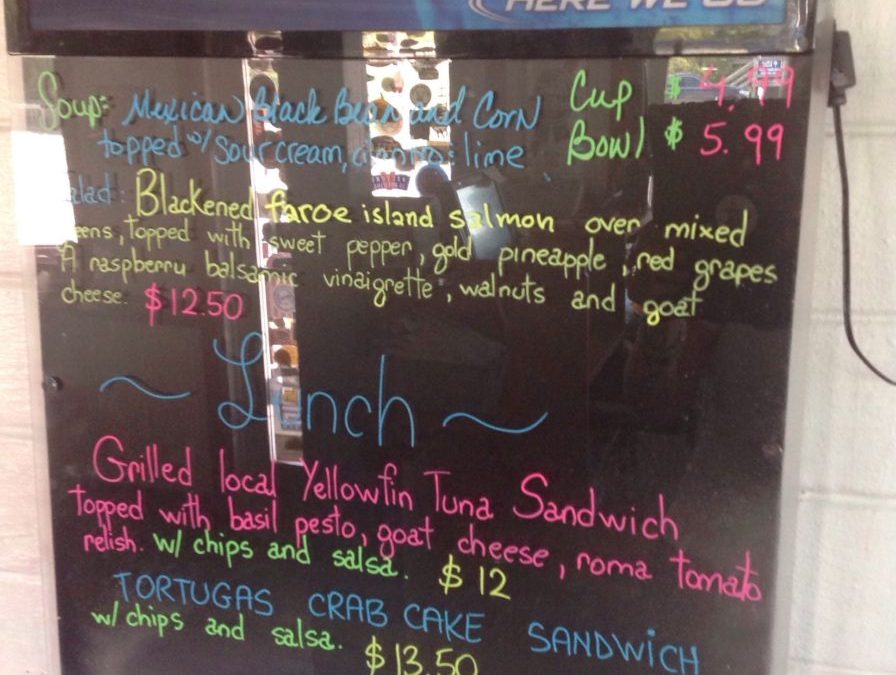Lunch Specials 9/6/2018