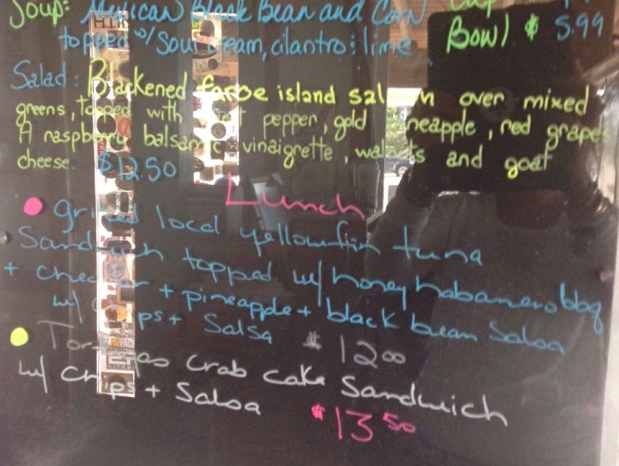 Lunch Specials 9/08/2018