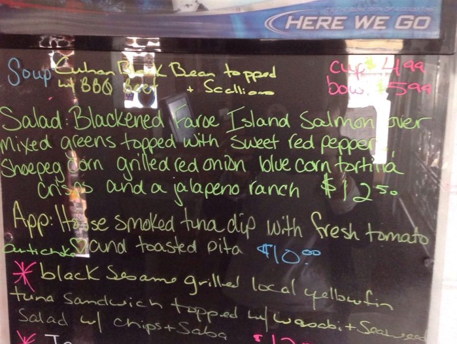 Lunch Specials 11/20/2018