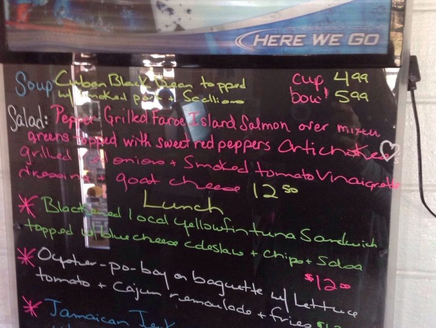 Lunch Specials 11/16/2018