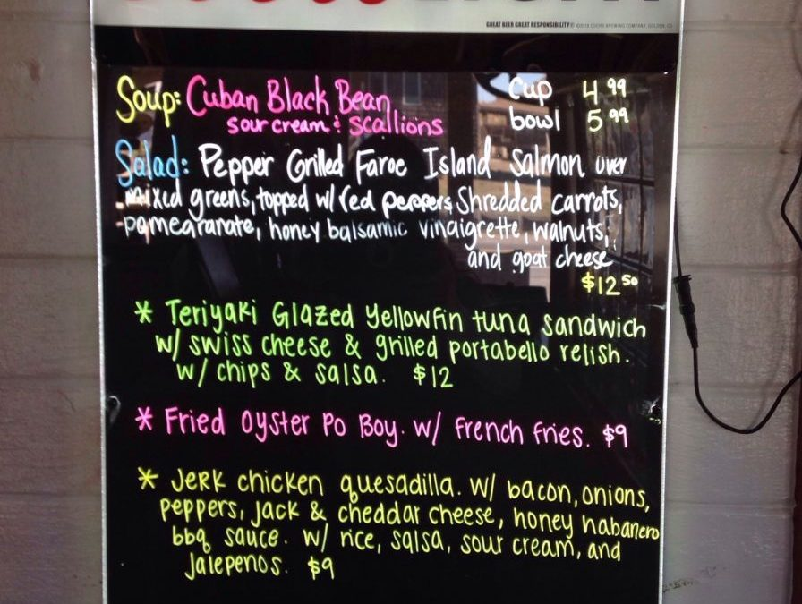 Lunch Specials 1-6-19