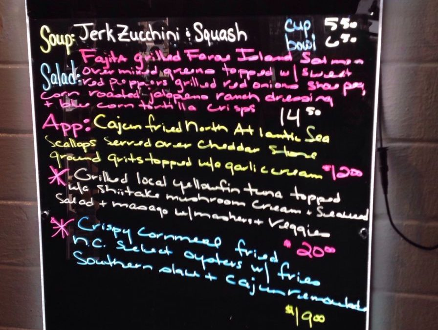 Lunch Specials 2/10/2019