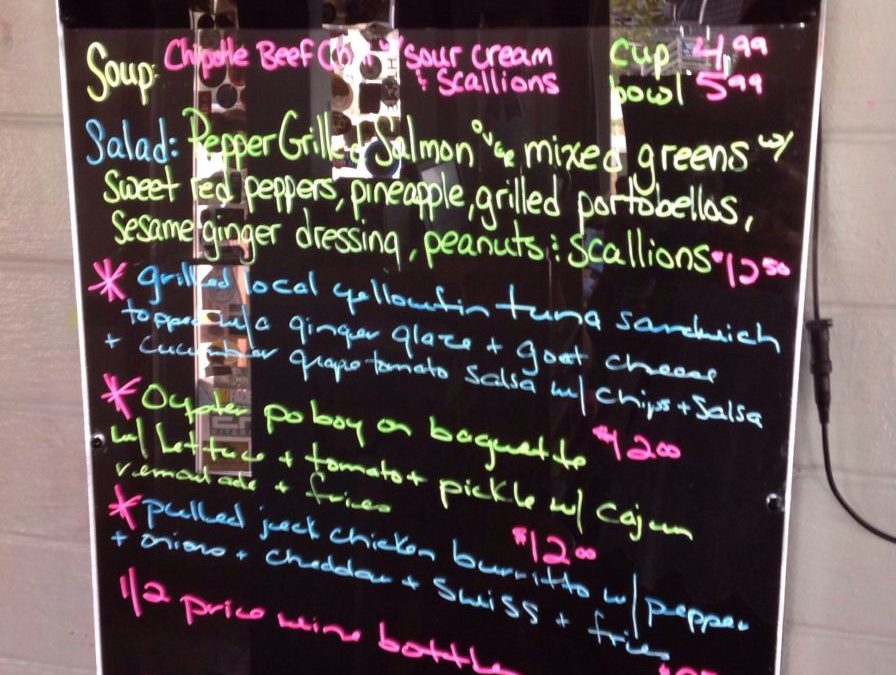 Lunch Specials 2/28/2019