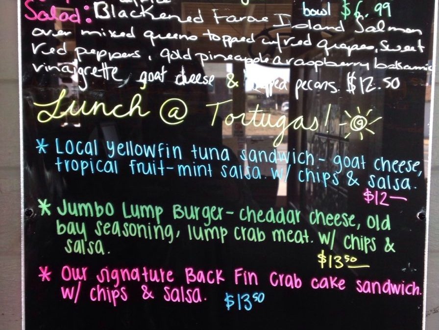 Lunch Specials 5/30/19