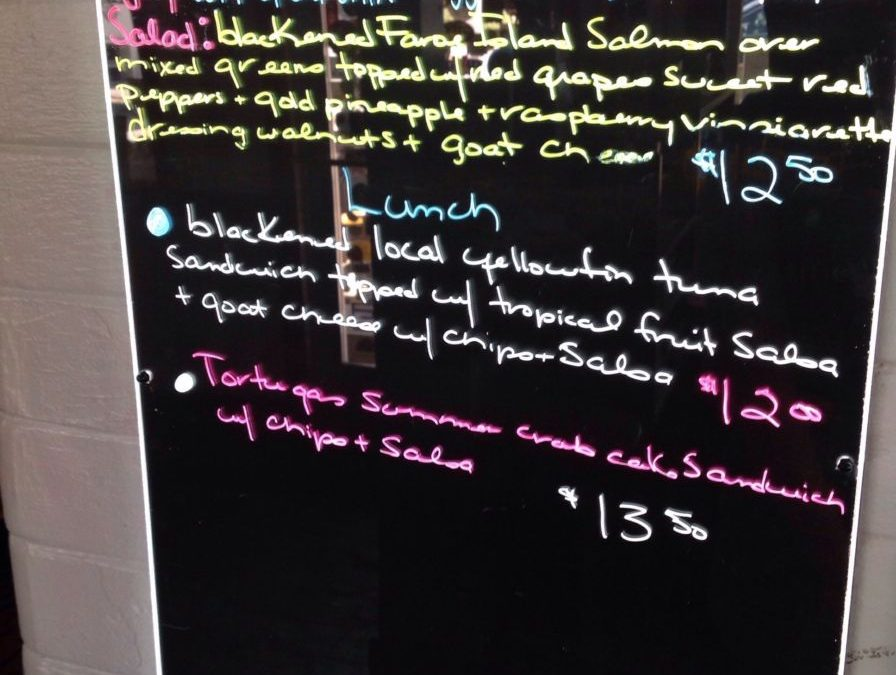 Lunch specials 7/29/19