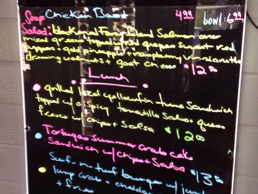 Lunch Specials 7/26/2019