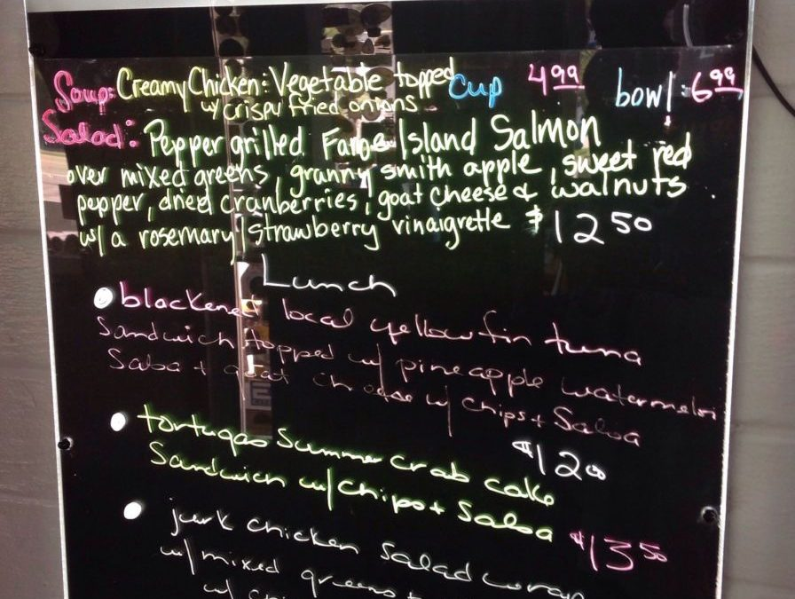 Lunch Specials 8/19/2019