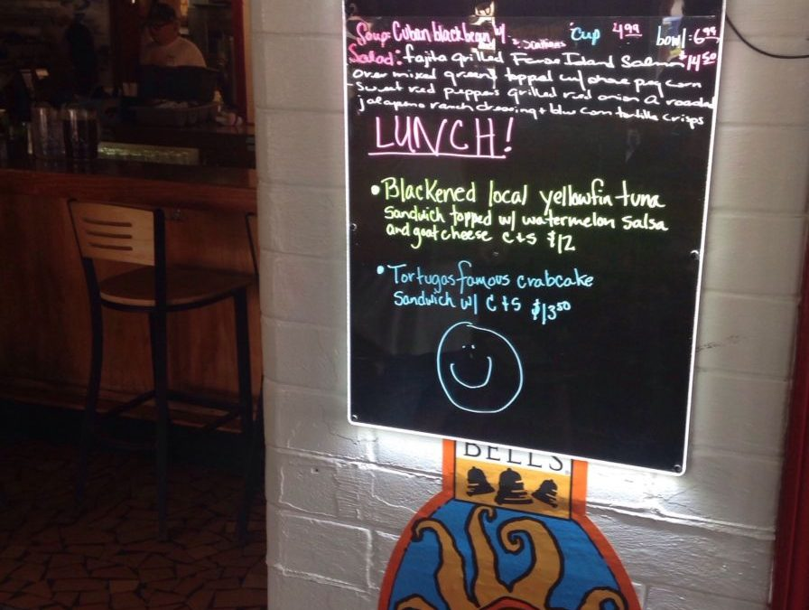 Lunch specials 8/15/19