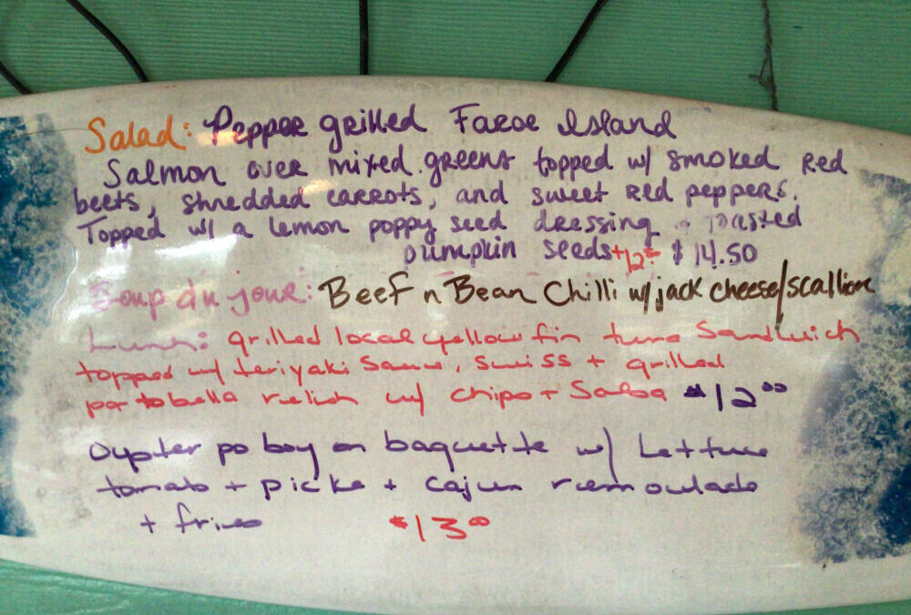 Lunch Specials 11/27/20