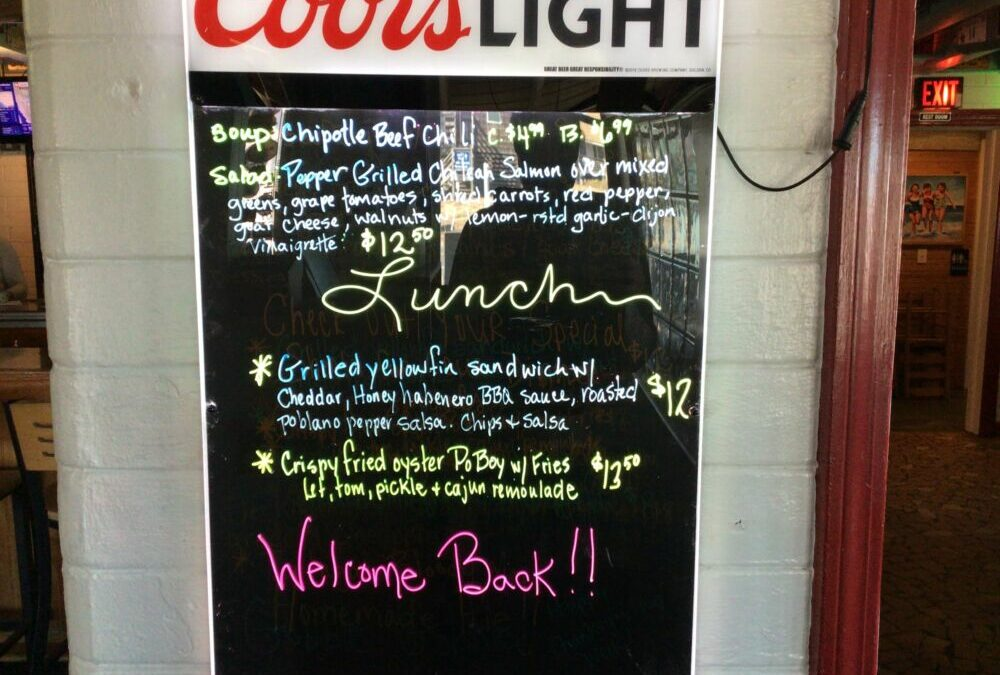 12/30/20 Lunch Specials
