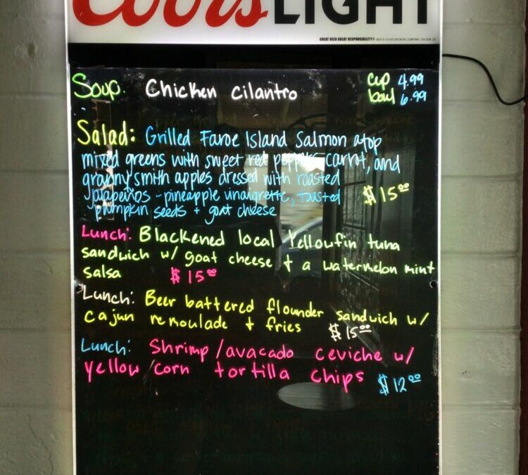 6/21 Lunch Specials