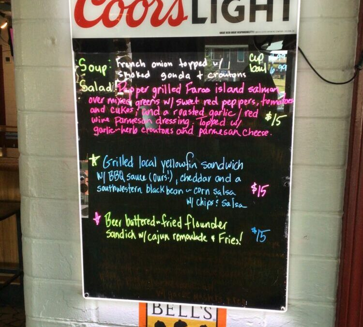 7/25 Lunch Specials