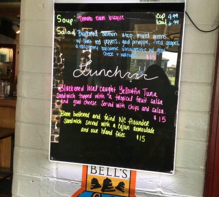 8/2 Lunch Specials